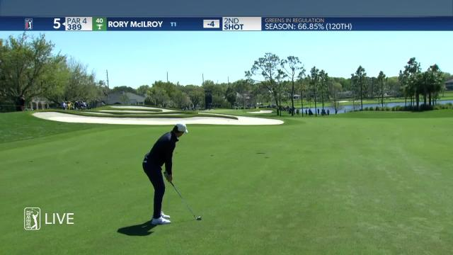 Rory McIlroy's tight approach leads to birdie at Arnold Palmer