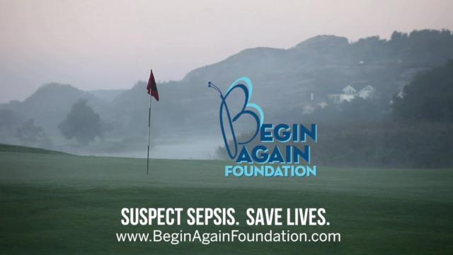 Marc Leishman, Begin Again Foundation advocate for awareness on World Sepsis Day
