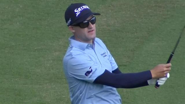 Russell Knox reaches in two to set up birdie at Bermuda