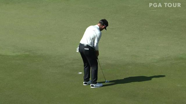 Louis Oosthuizen gets up-and-down for birdie at Valspar