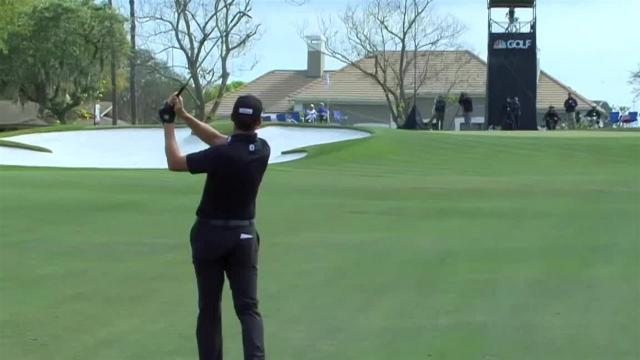Jimmy Walker uses nice approach to set up birdie at Arnold Palmer