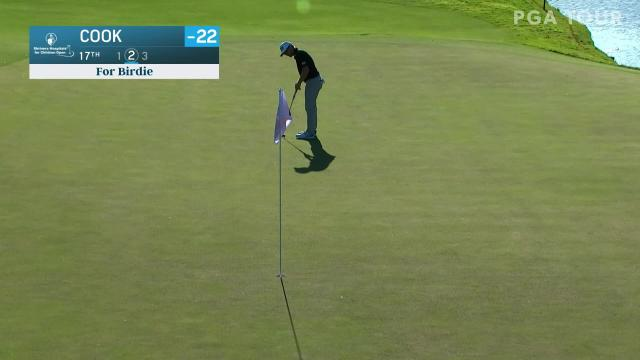 PGA TOUR | Austin Cook jars 39-foot birdie putt at Shriners