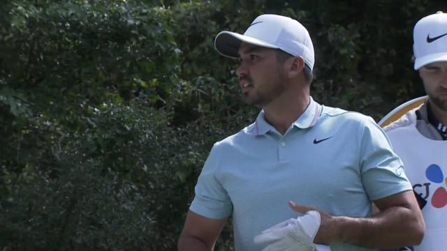 Jason Day dials in tee shot at THE CJ CUP