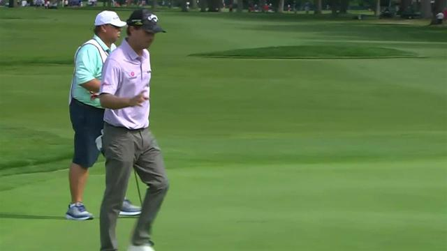 Kevin Kisner's approach inside 10 feet leads to birdie at Rocket Mortgage