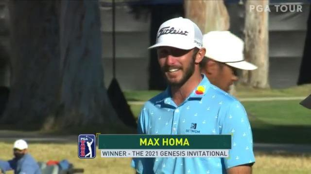 Max Homa pars second playoff hole to win at Genesis