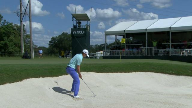 Today's Top Plays: Carlos Ortiz's hole-out from the bunker for the Shot of the Day
