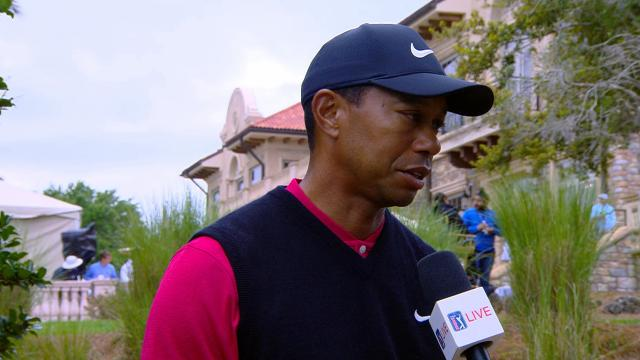 Tiger Woods' interview after Round 4 of THE PLAYERS