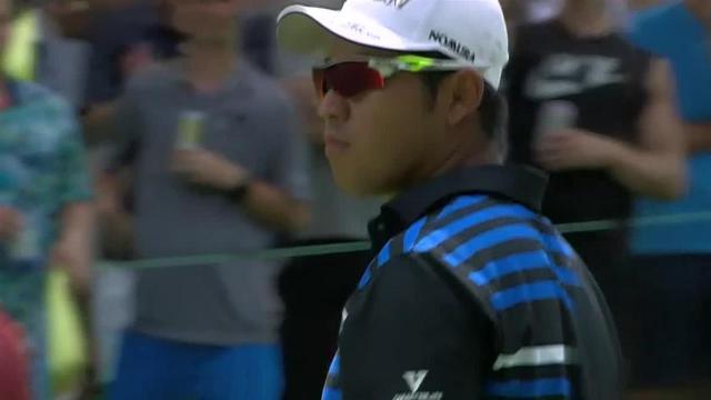 Hideki Matsuyama's impressive second leads to birdie at Rocket Mortgage