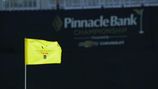 Top-3 shots from Round 2 at Pinnacle Bank