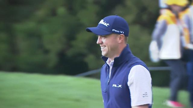 Today's Top Plays: Justin Thomas' chip-in is the Shot of the Day