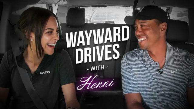 Driving with Tiger Woods to the WGC-Mexico Championship