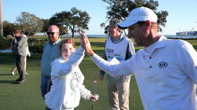 PGA TOUR players compete in Charity Putting Challenge at The RSM Classic