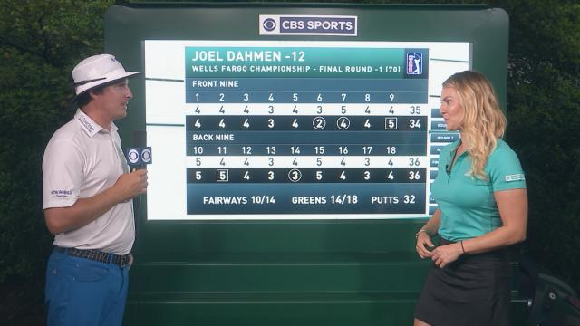 Joel Dahmen's interview after Round 4 of Wells Fargo