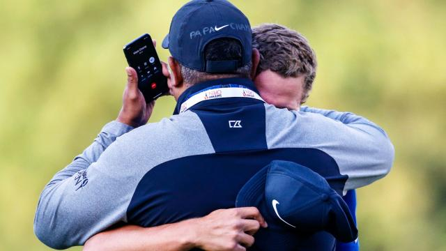 Cameron Champ inspired by his grandpa Mack