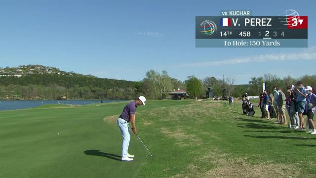 Victor Perez birdies No. 14 in Round 7 at WGC-Dell Match Play