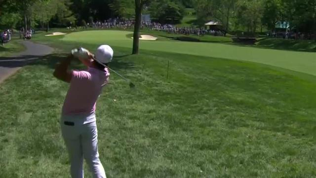 Jason Day's beautiful hole-out from the rough at the Memorial