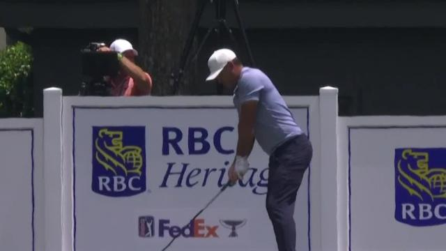 Brooks Koepka makes eagle on No. 9 in Round 4 at RBC Heritage