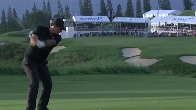 Patrick Reed's impressive second leads to birdie for at Sentry