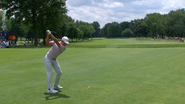 Leaders in driving from the Rocket Mortgage Classic