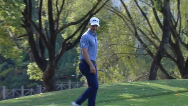Today's Top Plays: Paul Waring's hole-out chip shot for the Shot of the Day