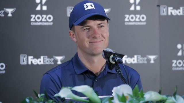 Jordan Spieth assesses game before ZOZO