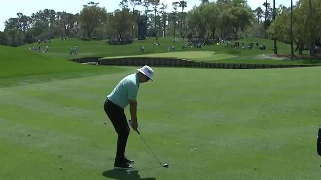 Joel Dahmen's clutch approach sets up 6-foot birdie at THE PLAYERS