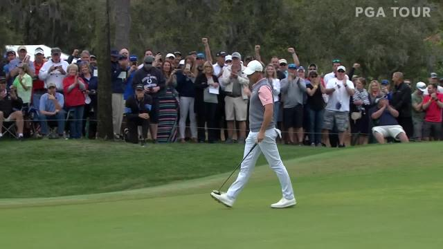 Rory McIlroy birdies No. 12 at THE PLAYERS