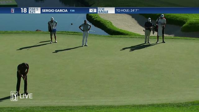 Sergio Garcia birdies No. 18 at THE CJ CUP