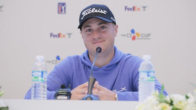 Justin Thomas talks Asian Swing before THE CJ CUP