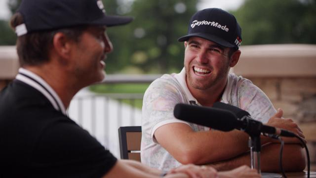 Matthew Wolff and swing coach George Gankas on Up & Down podcast