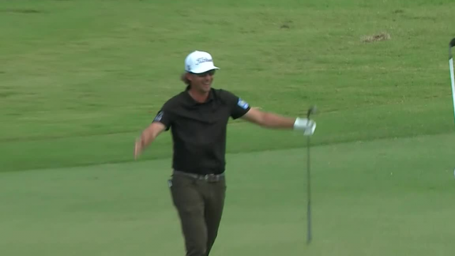 Roger Sloan holes out for eagle at Puerto Rico