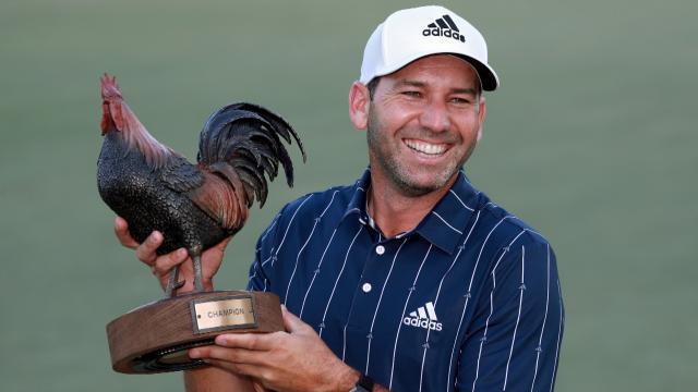 PGA TOUR   Sergio Garcia shoots 67 to win at Sanderson Farms