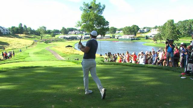 Leaders in driving from the Travelers Championship