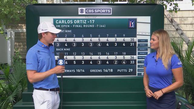 Carlos Ortiz interview after Round 4 of 3M Open
