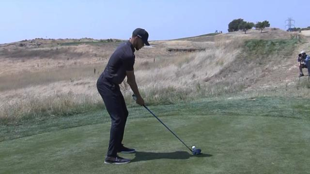Stephen Curry's golf swing analysis