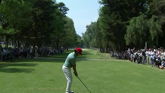 Abraham Ancer birdies No. 3 at WGC-Mexico
