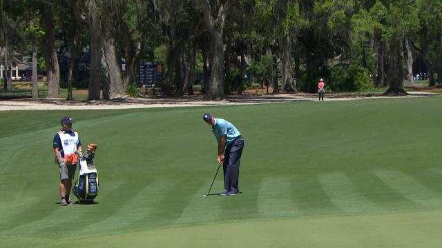 Today's Top Plays: Matt Kuchar's 84-foot birdie bump-and-run for Shot of the Day