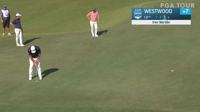 PGA TOUR | Lee Westwood birdies No. 13 in Round 2 at Vivint Houston Open