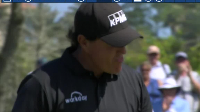 Phil Mickelson rolls in 46-footer for birdie at THE PLAYERS