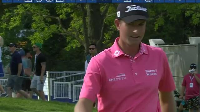 Webb Simpson leads the field in putting at the RBC Canadian Open