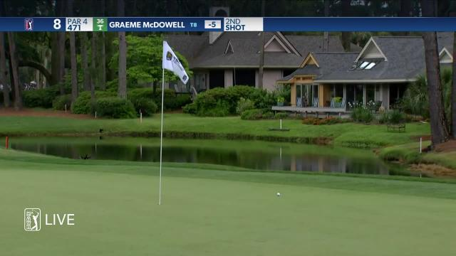 Graeme McDowell's solid approach yields 6-foot birdie at RBC Heritage