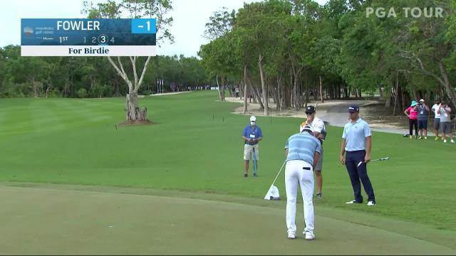 PGA TOUR | Rickie Fowler makes birdie on No. 1 in Round 2 at Mayakoba
