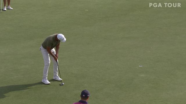 Jason Day birdies No. 16 in Round 4 at Vivint Houston Open
