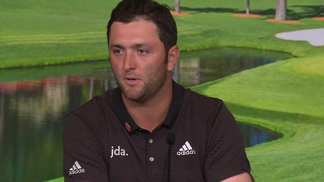 Jon Rahm talks about learning to manage expectations before The Masters