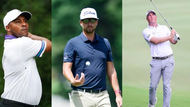 Three share the clubhouse lead at Wyndham