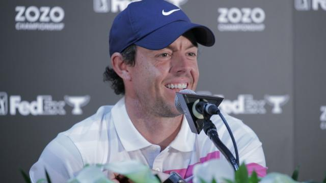 Rory McIlroy talks rivalries before ZOZO