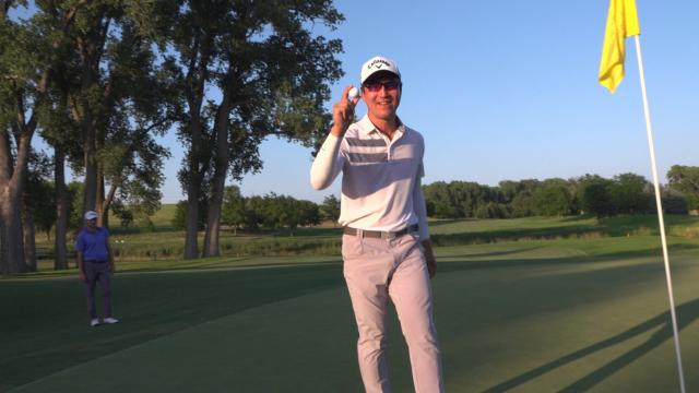 Byron Meth's 219-yard albatross at Pinnacle Bank