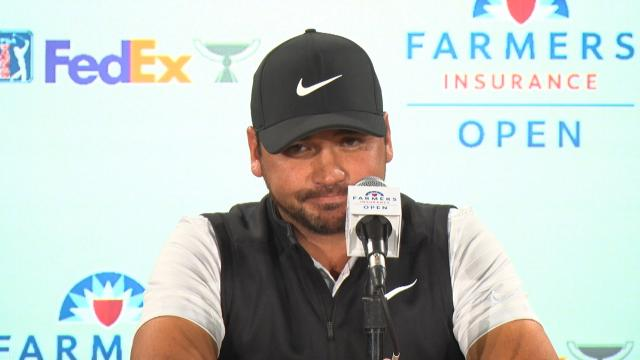 Jason Day comments before the Farmers Insurance Open