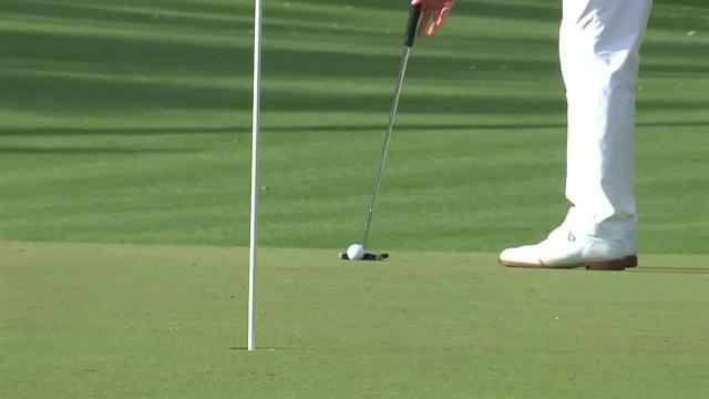 Adam Scott's 25-foot birdie putt at THE PLAYERS