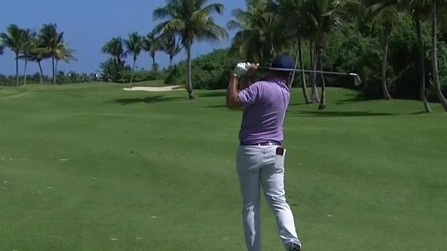Josh Teater sticks approach to set up birdie at Puerto Rico